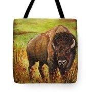 Tatanka, Buffalo  Tote Bag