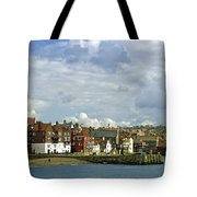 Tate Hill Pier And The Shambles - Whitby Tote Bag