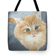 Tater Bud Kitty Tote Bag