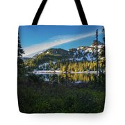 Tatoosh Peek Tote Bag
