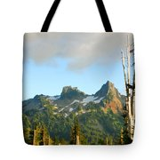 Tatoosh Range In August. Mt Rainier National Park Tote Bag