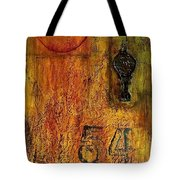 Tattered Wall  Tote Bag
