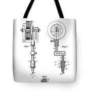 Tattooing Machine Patent Art  1891 Tote Bag