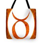 Taurus And Sacral Chakra  Abstract Spiritual Artwork By Omaste W Tote Bag