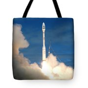 Taurus Rocket Launch Tote Bag