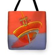 Tavira Fishing Boat Tote Bag