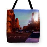 Taxi - Boston Tote Bag