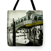 Taxi Venice Italy Style Tote Bag