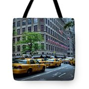 Taxicabs Of New York City Tote Bag
