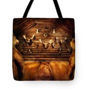 Taxidermy - Home Of The Three Bears Tote Bag