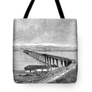 Tay Rail Bridge, 1879 Tote Bag