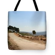 Taybeh Side Road Tote Bag