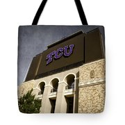 Tcu Stadium Entrance Tote Bag