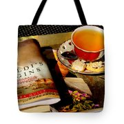 Tea And A Read Tote Bag