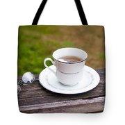 Tea And Art Tote Bag