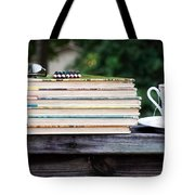 Tea And Reading Tote Bag