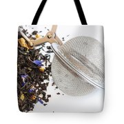 Tea Ball Infuser And Scented Tea Tote Bag