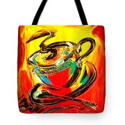 Tea Cup Tote Bag