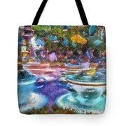 Tea Cup Ride Fantasyland Disneyland Pa 02 Tote Bag