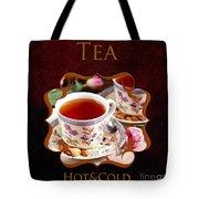 Tea Gallery Tote Bag