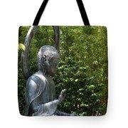 Tea Garden Buddha Tote Bag