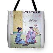 Tea Leaves Tote Bag