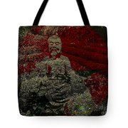 Tea Meditation Tote Bag by Peter R Nicholls