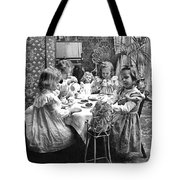Tea Party, C1902 Tote Bag
