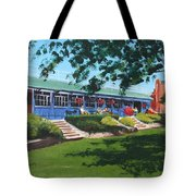 Tea Rooms At The Peoples Park Tote Bag