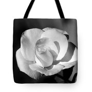 Tea Rose 01 - Infrared Tote Bag