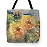 Tea Roses Tote Bag