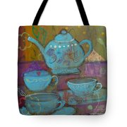 Tea Spot Tote Bag