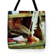 Teacher - School Supplies In General Store Tote Bag