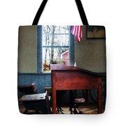 Teacher - Schoolmaster's Desk Tote Bag