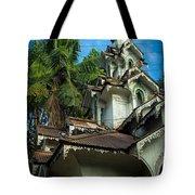 Teak Tower Tote Bag