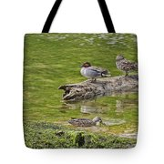 Teal Family Gathering Tote Bag