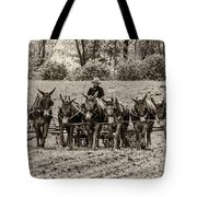 Team Of Eight Tote Bag