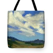 Teanaway Passing Clouds Tote Bag