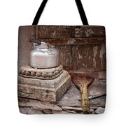 Teapot And Broom Tote Bag