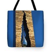 Teardrop  9 - 11 Memorial Bayonne N J  Tote Bag