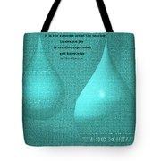 Teardrop Abstract 2 Tote Bag