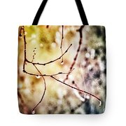 Teardrops Of The Nature Tote Bag