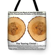 Tearing Christ - Discovery Tote Bag