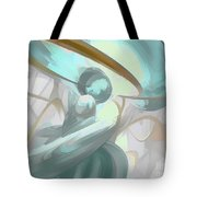 Teary Dreams Pastel Abstract Tote Bag