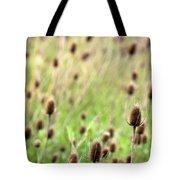 Teasel Meadow Tote Bag