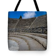 Teatro Grande Or Grand Amphitheater Pompeii Italy Tote Bag