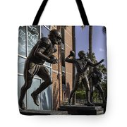 Tebow Spurrier And Wuerffel Uf Heisman Winners Tote Bag