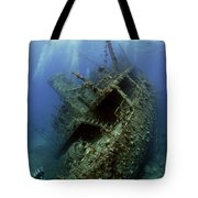 Technical Divers On The Giannis D In The Red Sea  Egypt Tote Bag
