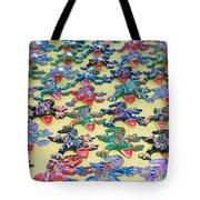 Technicolour Nightmare Tote Bag