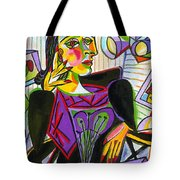 Technology And Picasso Tote Bag